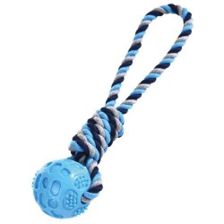 Balle avec corde à lancer