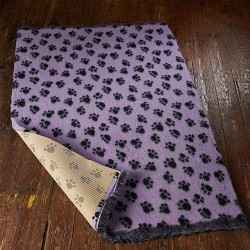 Tapis absorbant violet avec...