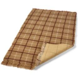 Tapis absorbant brun à...